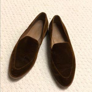 Madewell Frances Velvet Loafer